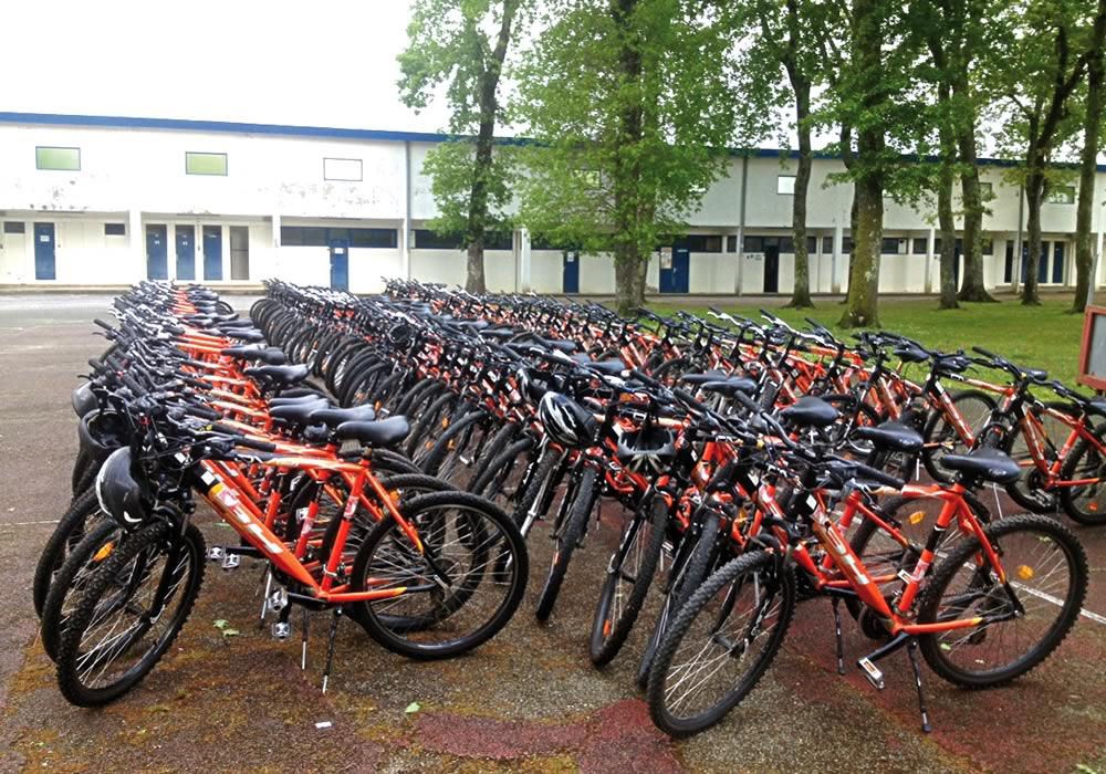 Location de vélos pour CE et Groupes