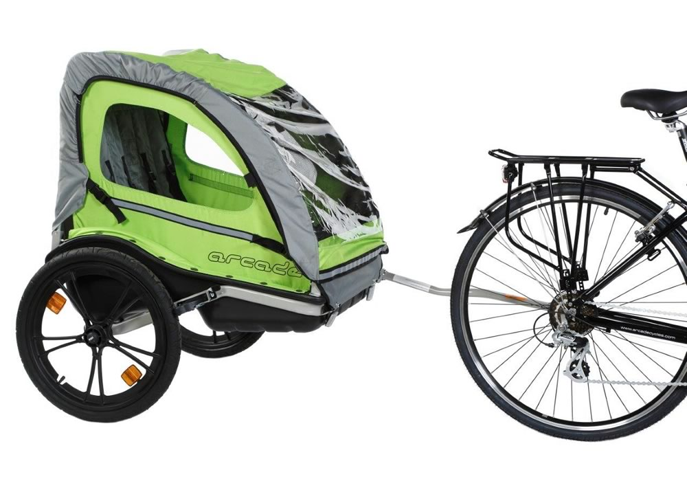 Locacycles - Rent a bicycle trailer for children