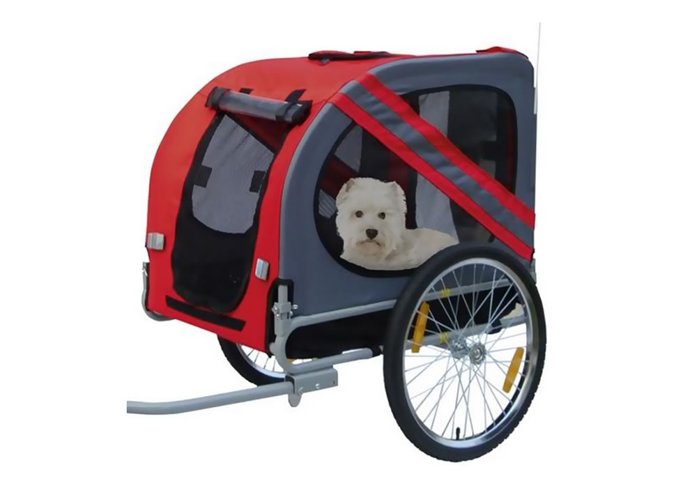 Locacycles - Rent a bicycle trailer for dogs